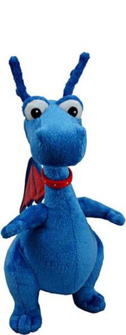 Disney Doc McStuffins Stuffy 6-Inch Beanbag Plush [Blue Dragon]
