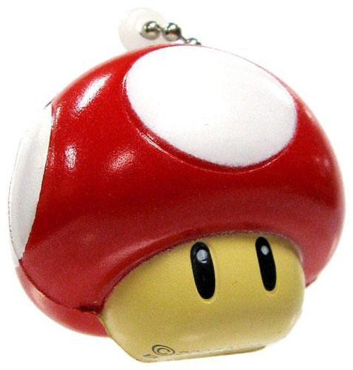 Super Mario Galaxy 2 Mini Foam Figures Super Mushroom Keychain
