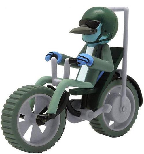 Cartoon Network Regular Show Mordecai 3-Inch Pull Back Vehicle