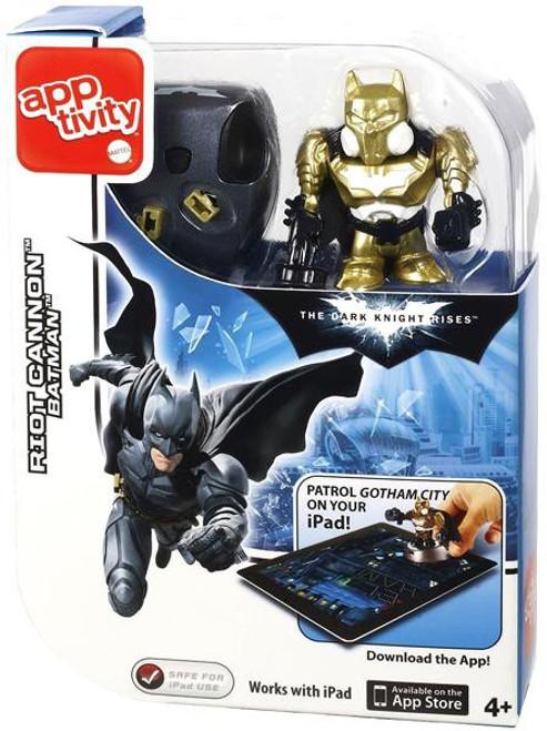 The Dark Knight Rises Apptivity Batman Figure [Riot Cannon]