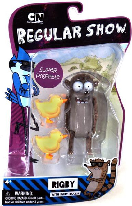 Cartoon Network Regular Show Super Poseable Rigby Action Figure