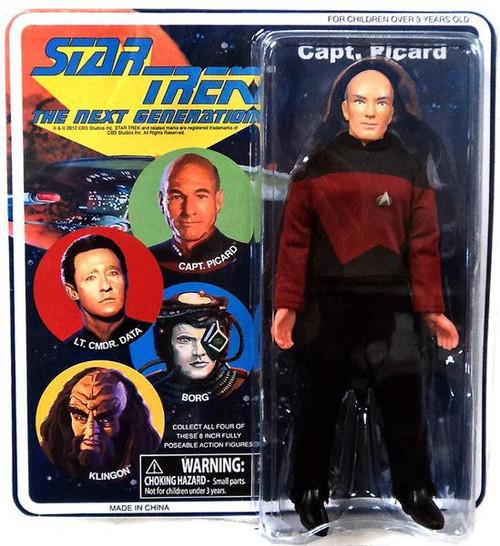 Star Trek: The Next Generation Captain Picard Action Figure [8 Inch]