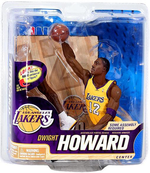 McFarlane Toys NBA Los Angeles Lakers Sports Picks Series 22 Dwight Howard Action Figure [Yellow Jersey]