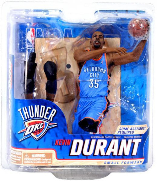McFarlane Toys NBA Oklahoma City Thunder Sports Picks Series 22 Kevin Durant Action Figure [Blue Jersey]