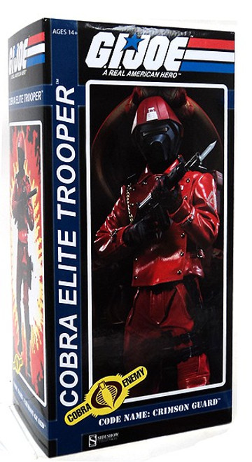 GI Joe Cobra Enemy Cobra Elite Trooper Collectible Figure