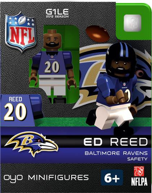 Baltimore Ravens NFL Generation 1 2012 Season Ed Reed Minifigure