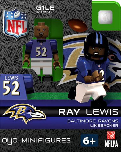 Baltimore Ravens NFL Generation 1 2012 Season Ray Lewis Minifigure