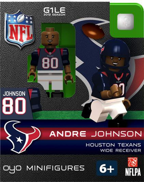 Houston Texans NFL Generation 1 2012 Season Andre Johnson Minifigure