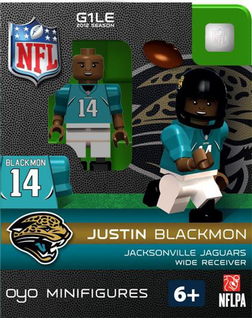 Jacksonville Jaguars NFL Generation 1 2012 Season Justin Blackmon Minifigure