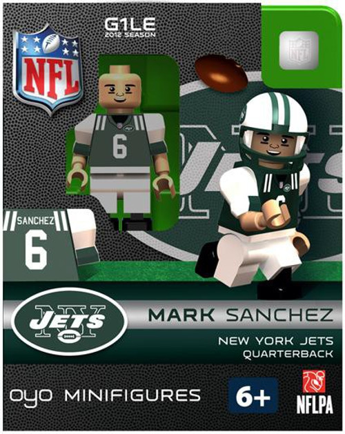 New York Jets NFL Generation 1 2012 Season Mark Sanchez Minifigure