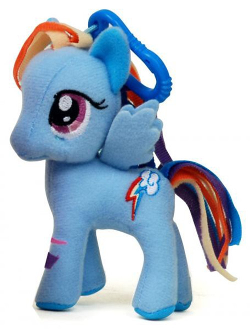 My Little Pony Friendship is Magic 3 Inch Rainbow Dash Plush Clip