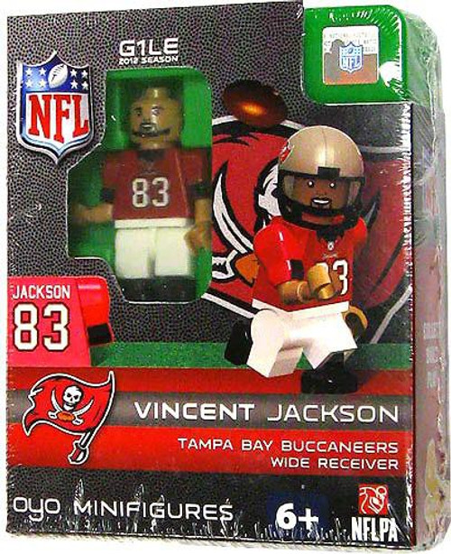 Tampa Bay Buccaneers NFL Generation 1 2012 Season Vincent Jackson Minifigure