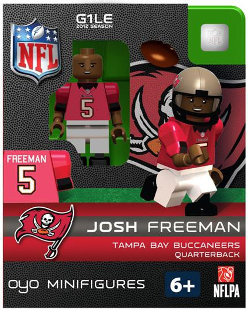 Tampa Bay Buccaneers NFL Generation 1 2012 Season Josh Freeman Minifigure