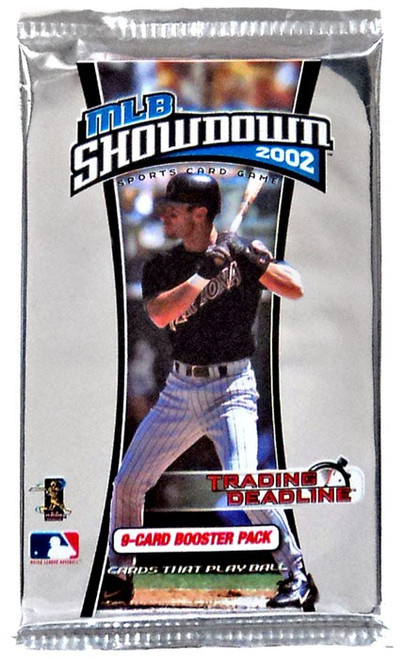 MLB Showdown Sports Card Game 2002 Trading Deadline Booster Pack [9 Cards!]