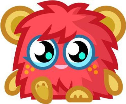Moshi Monsters Moshlings Series 4 Scarlet O'Haira Mini Figure #67