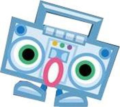 Moshi Monsters Moshlings Series 4 HipHop Mini Figure #36