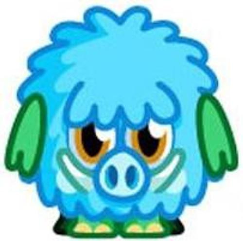 Moshi Monsters Moshlings Series 4 Woolly Mini Figure #58