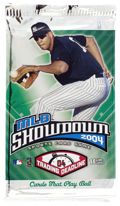 MLB Showdown Sports Card Game 2004 Trading Deadline Booster Pack [11 Cards!]