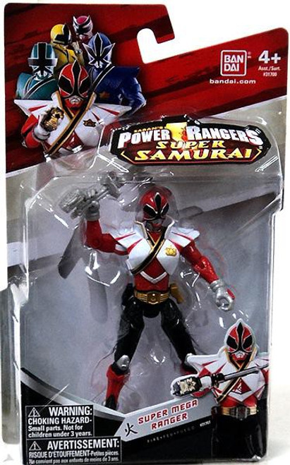 Power Rangers Super Samurai Super Mega Ranger Fire Action Figure