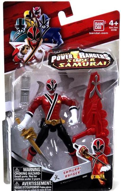 Power Rangers Super Samurai Samurai Ranger Fire Action Figure