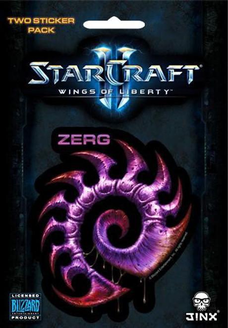 Starcraft II Zerg Sticker