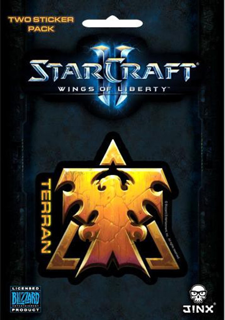 Starcraft II Terran Sticker