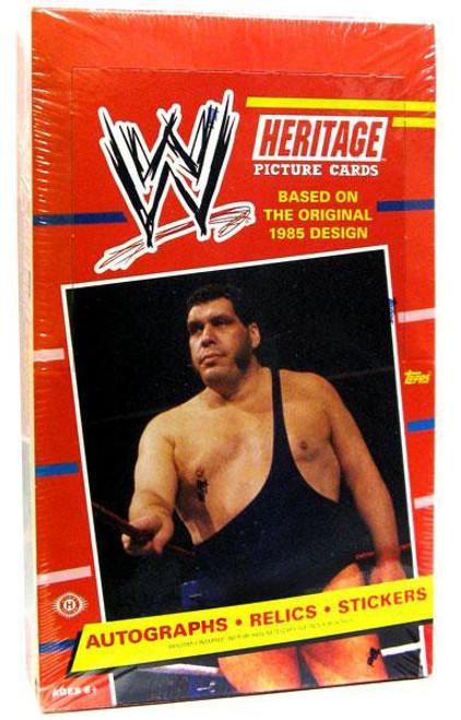 WWE Wrestling Topps 2012 WWE Heritage Trading Card Box [24 Packs]
