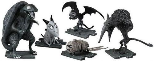 Frankenweenie Turtle Monster, After Life Sparky, Vampire Cat, Hamster Mummy & Wererat Mini Figure 5-Pack