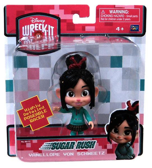 Disney Wreck-It Ralph Sugar Rush Vanellope Von Schweetz 5-Inch Figure
