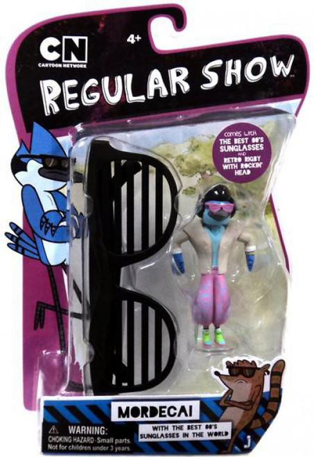 Cartoon Network Regular Show Mordecai Action Figure [Retro]