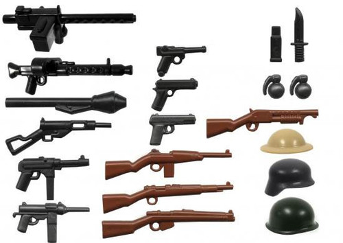 BrickArms World War II 2.5-Inch Weapons Pack [Version 3]