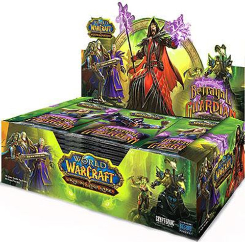 World of Warcraft Trading Card Game Betrayal of the Guardian Booster Box [36 Packs]