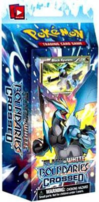 Pokemon Trading Card Game Black & White Boundaries Crossed Ice Shock Theme Deck [Black Kyurem]