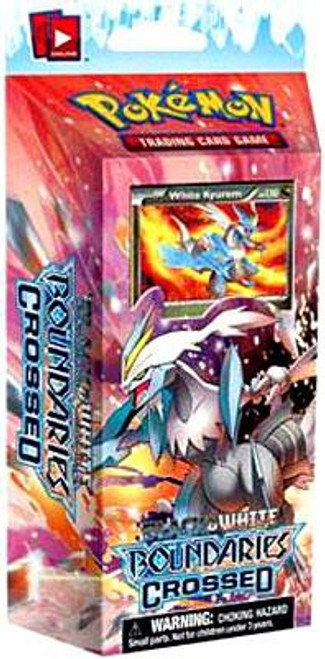 Pokemon Trading Card Game Black & White Boundaries Crossed Cold Fire Theme Deck [White Kyurem]