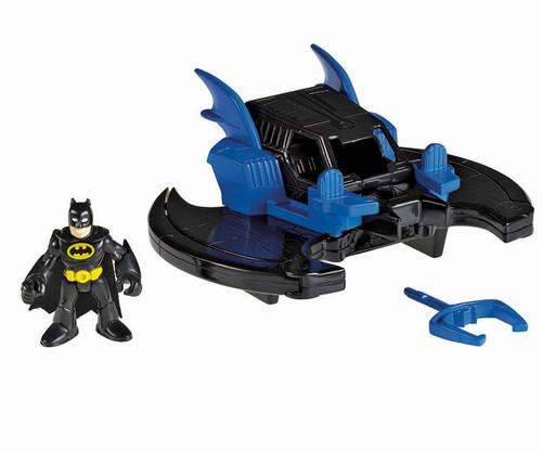 Fisher Price DC Super Friends Imaginext Batwing 3-Inch Figure Set [Black Suit Batman]