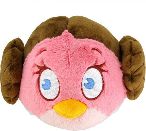 Star Wars Angry Birds Princess Leia Bird 8-Inch Plush