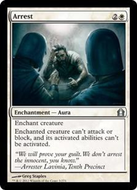 MtG Return to Ravnica Uncommon Arrest #3