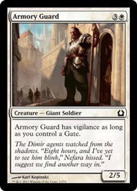 MtG Return to Ravnica Common Armory Guard #2