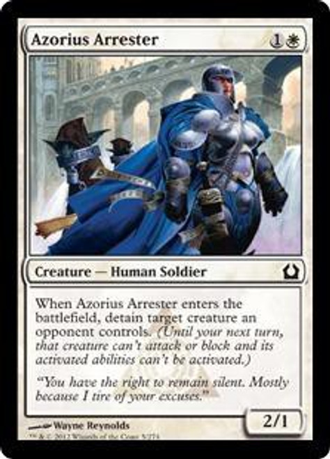 MtG Return to Ravnica Common Azorius Arrester #5