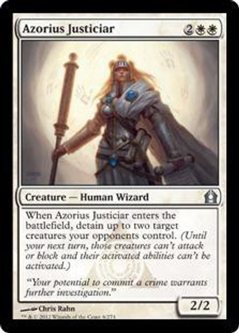 MtG Return to Ravnica Uncommon Azorius Justiciar #6