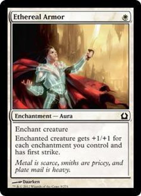 MtG Return to Ravnica Common Ethereal Armor #9