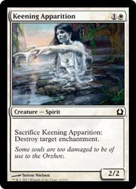 MtG Return to Ravnica Common Keening Apparition #12