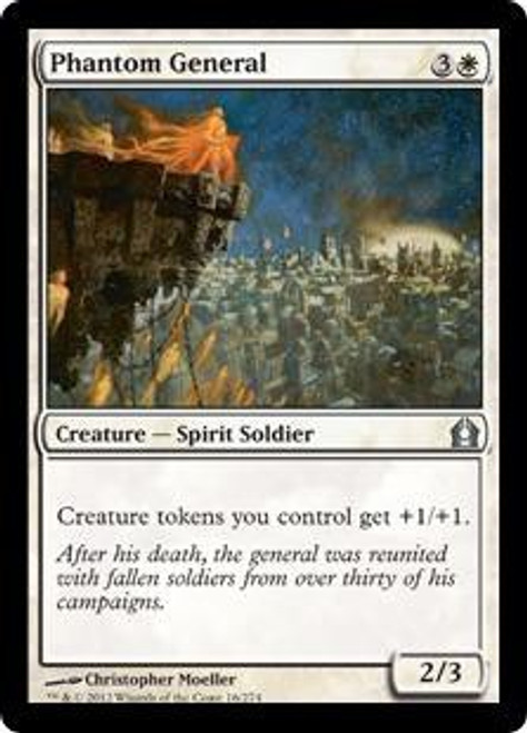MtG Return to Ravnica Uncommon Phantom General #16