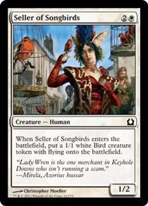 MtG Return to Ravnica Common Seller of Songbirds #22