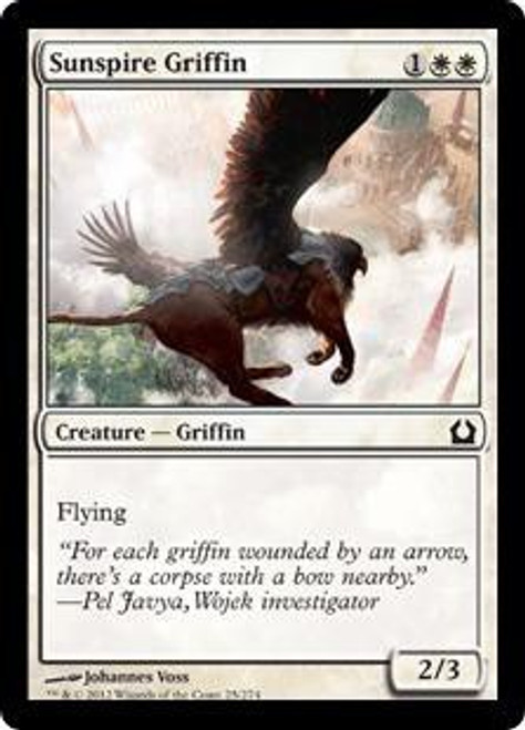 MtG Return to Ravnica Common Sunspire Griffin #25
