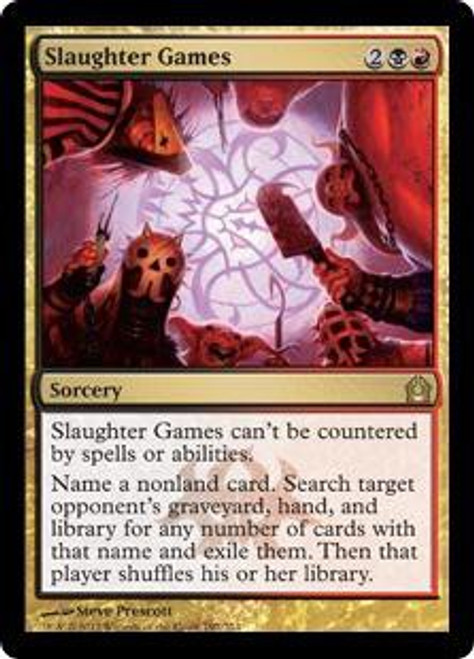 MtG Return to Ravnica Rare Slaughter Games #197