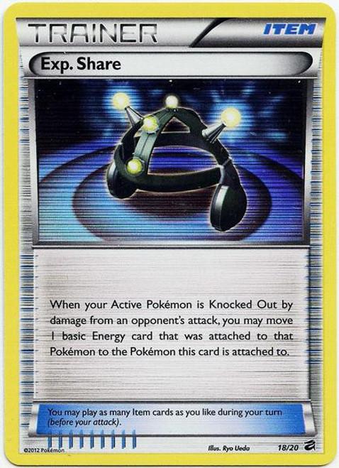 Pokemon Trading Card Game Dragon Vault Rare Holo Exp. Share #18