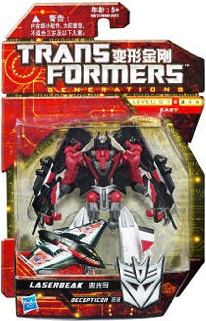 Transformers Generations Scout Laserbeak Scout Action Figure