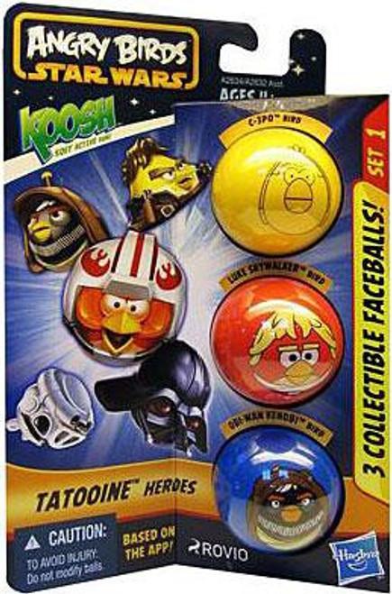 Star Wars Angry Birds Koosh Tatooine Heroes Balls Set 1