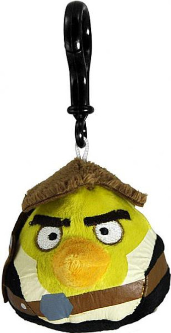 Star Wars Angry Birds Han Solo Bird Plush Clip On